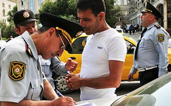 Sumqayıtda reyd: sənədsiz avtobus sürücüləri