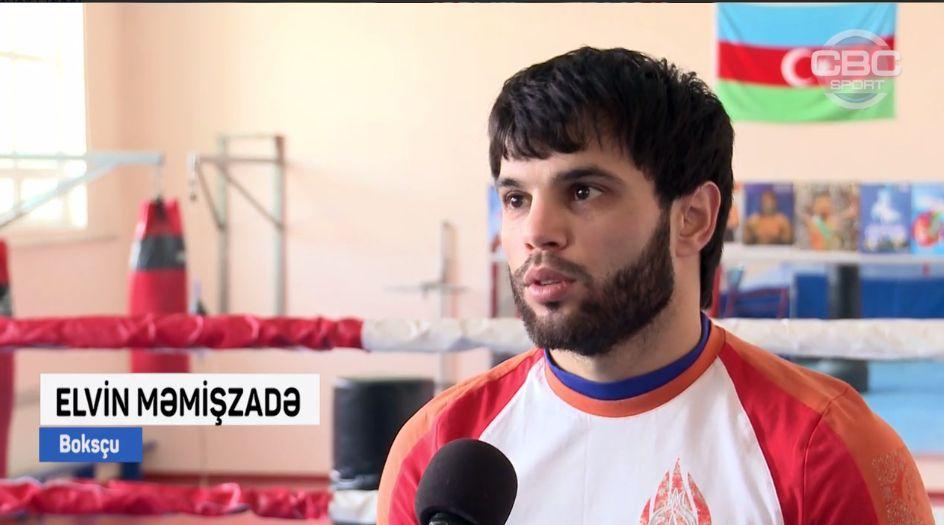 Sumqayıtlı boksçu Rio olimpiadasına belə hazırlaşır - VİDEOREPORTAJ